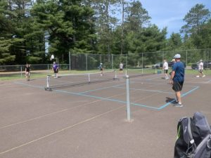 Pickleball at the Park